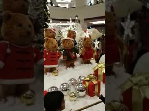 2016mall of the Emirates Christmas celebration