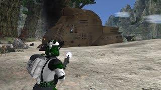 Star Wars Battlefront II Mod: EA Kashyyyk remake