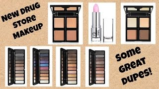 Drug Store DUPES! Review of New ELF Contour, Bronzer, & Eye Shadow Palettes!  * Jen Luv