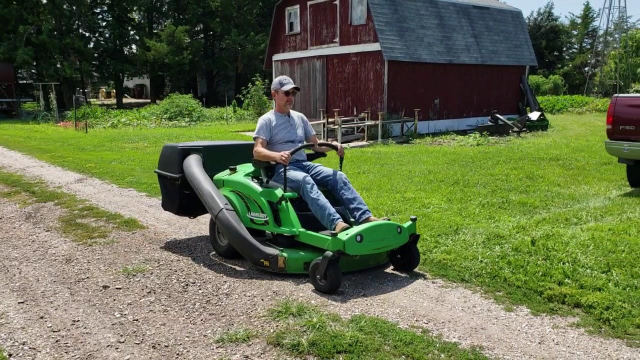 Lawnboy Precision Z340 Hlx Riding Lawn Mower