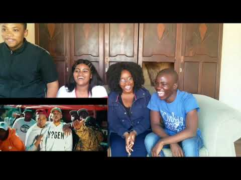 Driemanskap Feat. YoungstaCPT - Give A Wh?t (REACTION VIDEO ) || South African YouTubers