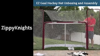 Download EZ Goal Hockey Net Unboxing & Assembly
