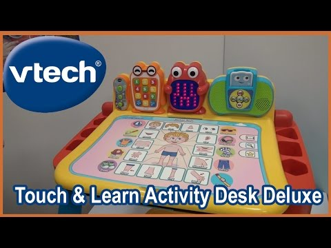 Vtech Touch and Learn Activity Desk Deluxe Toddler and Preschool Desk