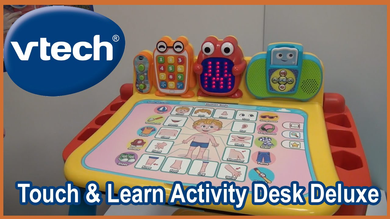 Vtech Touch and Learn Activity Desk Deluxe Toddler and