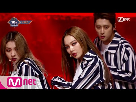 [KARD - You In Me] KPOP TV Show | M COUNTDOWN 171221 EP.551