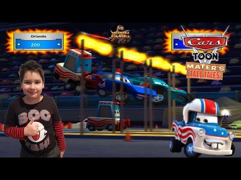 DISNEY PIXAR CARS TOON MATER'S TALL TALES - BIG BAD JUMPIN'!  