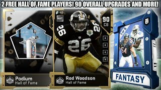 2 FREE HALL OF FAME PLAYERS! HALL OF FAME PROMO! 90 OVERALL GOATS! | MADDEN 19 ULTIMATE TEAM