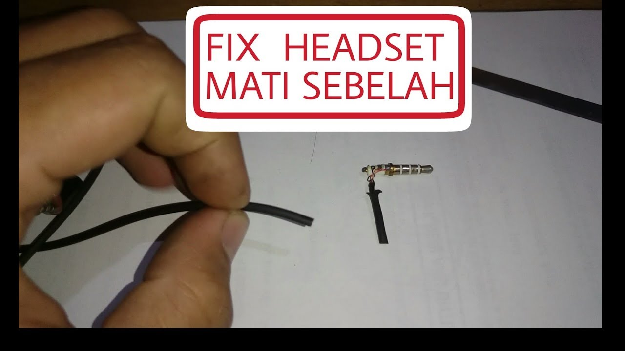 Techtrial2 Memperbaiki Headset Headphone Ear Phone Yang Bunyi