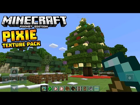 PIXIE TEXTURE PACK in 0.13.0!!! - Amazing Texture Pack - Minecraft PE (Pocket Edition)