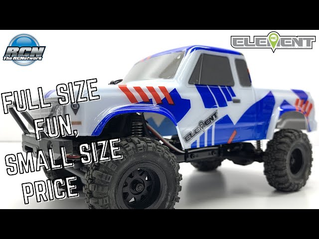 Element RC Enduro24 1/24th Scale Truck FUN!  Unbox, Running and Review!
