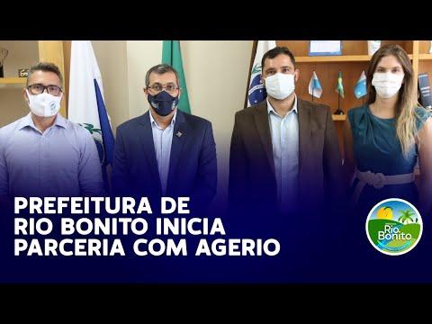 PREFEITURA DE RIO BONITO INICIA PARCERIA COM AGERIO