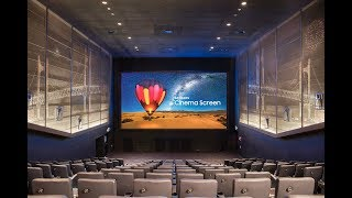 Introducing Samsung Cinema LED Screen
