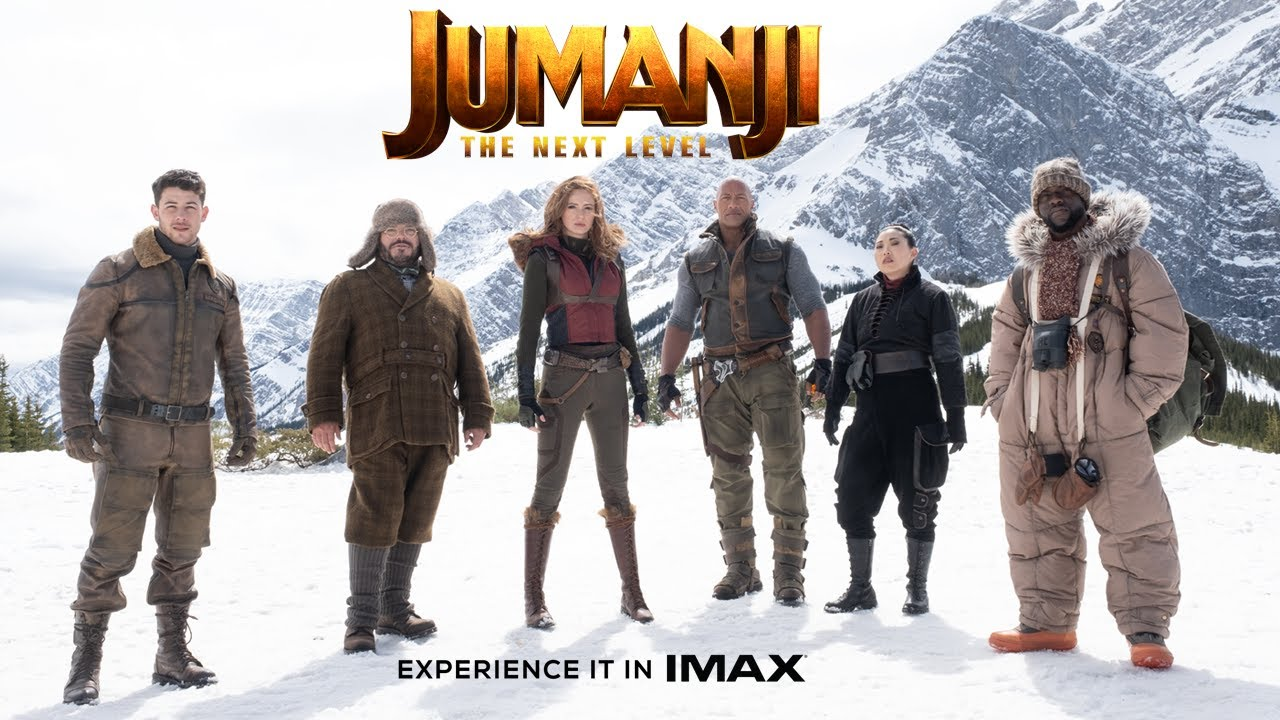 Jumanji: The Next Level | Final Trailer | Experience It In IMAX®