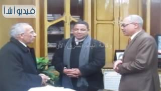 بالفيديو: محافظ شمال سيناء يستأنف عمله ويلتقى بالقيادات والمواطنين