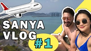SANYA VLOG 1 HAINAN ISLAND Tropical Island in China Arrival Room Tour Beach