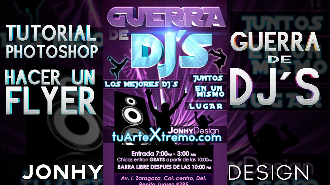 how to create club flyers in photoshop