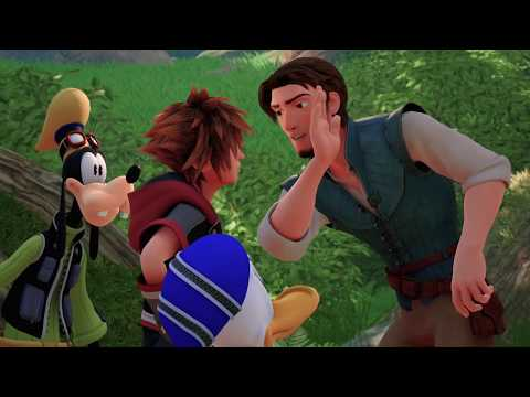 KINGDOM HEARTS III – LUCCA 2018 Tangled Trailer (Closed Captions)