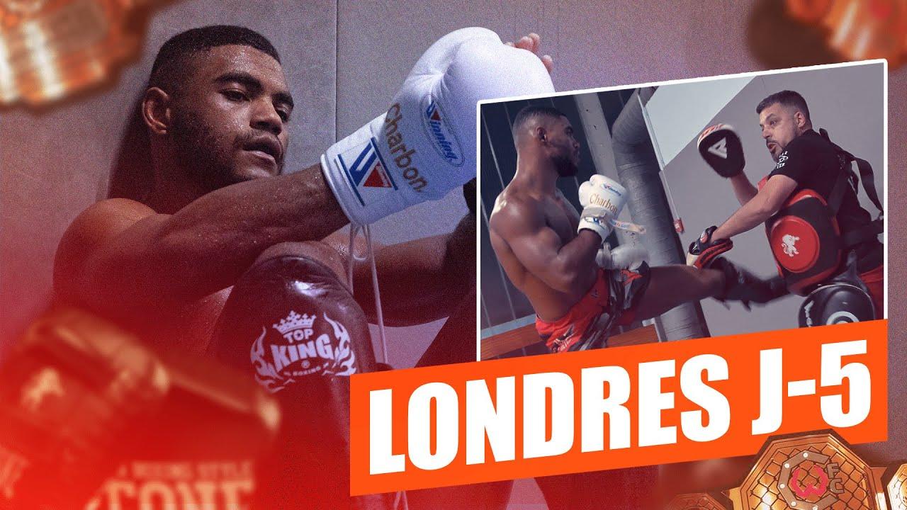 """À UNE SEMAINE DE MON RETOUR POUR LE TITRE : """"C'EST L' HEURE DE BRILLER !""""  - En route vers l'UFC"""
