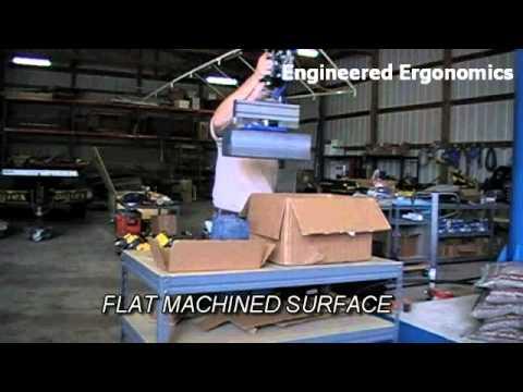 Silicon Ingot Vacuum Lifter