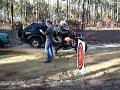 Sandblast Rally 2009 Shakedown Mike Gilkey