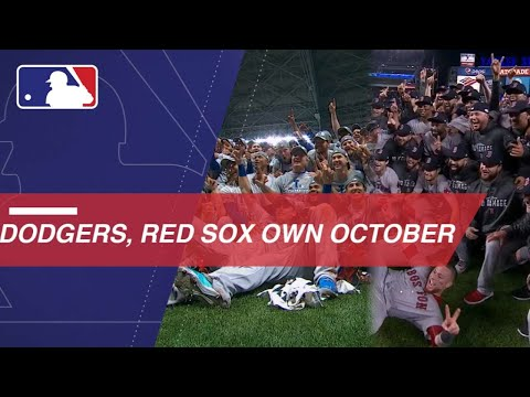 dodgers,-red-sox-sizzle-through-postseason-gauntlet