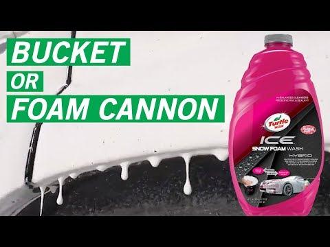 Best Car Wash Products Ice Snow Foam Wash Turtle Wax Youtube