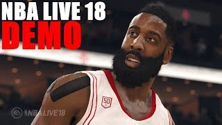 NBA LIVE 18 DEMO VÉLEMÉNY