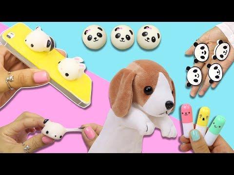 Utiles Escolares super Cool Squishy panda -slime de colores ! Cosas de Newchic