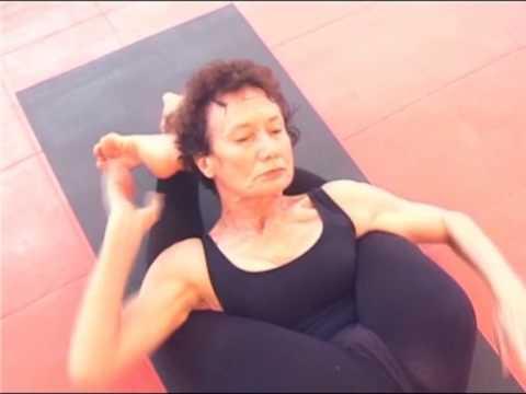 Yoga Nidrasana - YouTube