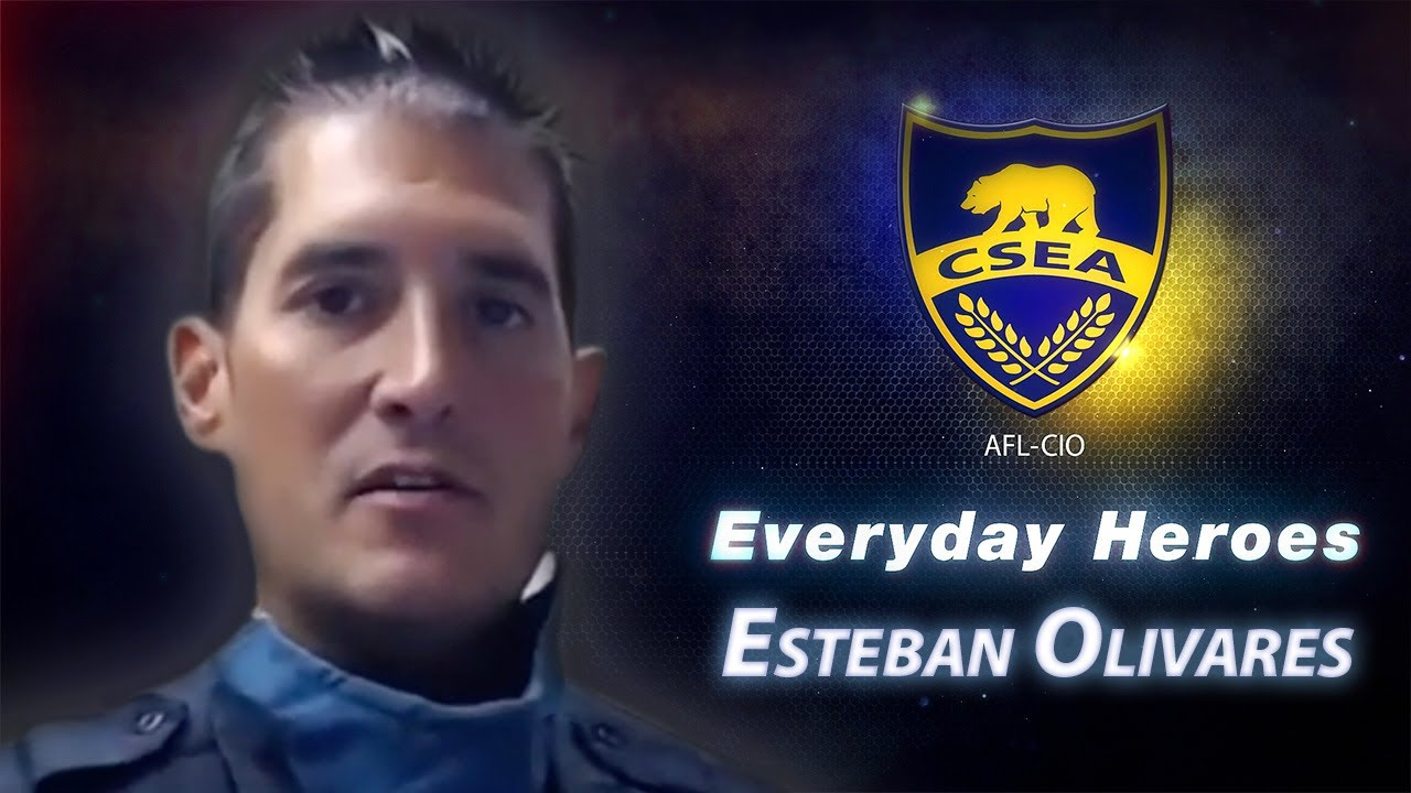 Everyday Hero Esteban Olivares