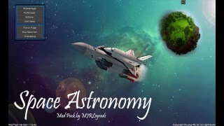 Minecraft Space Astronomy Let's play episode 1 [A new world]