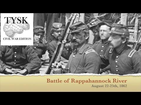 1862-57 Rappahannock River August 22–25 1862