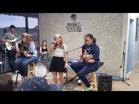 Strings Attached band from Denton Music Academy