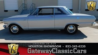 #501 1964 Chevrolet Nova - Gateway Classic Cars of Houston