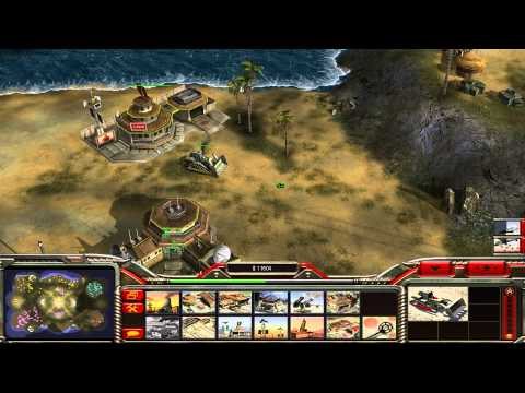 Command & Conquer Generals: Zero Hour Hard Skirmish Gameplay [China Infantry General]