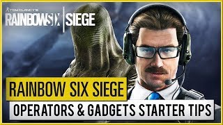 RAINBOW SIX : Siege - Operation Phantom Sight Operators Gameplay And Gadget Starter Tips (2019) HD