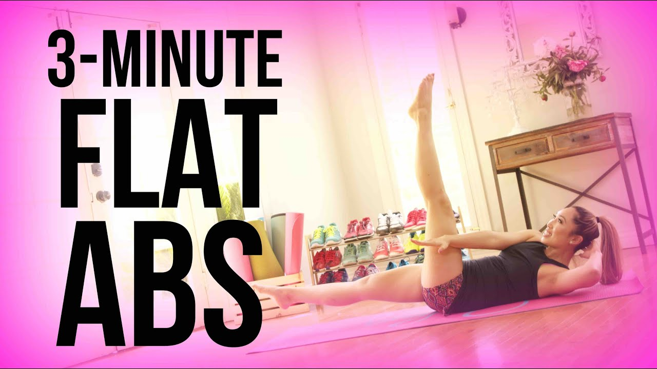 How to get flat abs in 3 minutes youtube ccuart Images