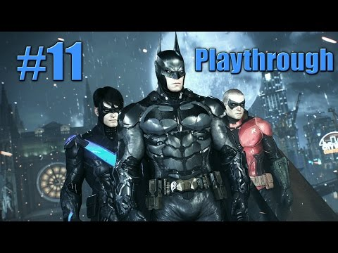 Batman Arkham Knight - Playthrough! Ep. 11 - Drone Hacker, Harley Quinn, Batwing [HD]