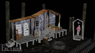 My Name is Annie King - 3D Rendering of Scenic design by Eric Luchen