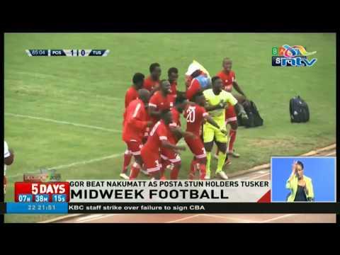 Gor Mahia beat Nakumatt as Posta stun Tusker