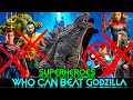 Superheroes who can beat Godzilla Explained in Hindi (SUPERBATTLE)