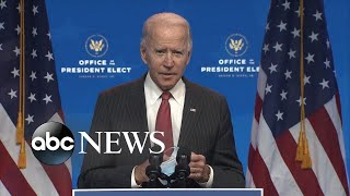President-elect Biden's transition team 'running out of patience'