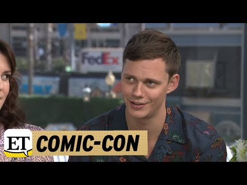 Comic-Con 2018: Castle Rock: Bill Skarsgard Jokes He Is Going To ...