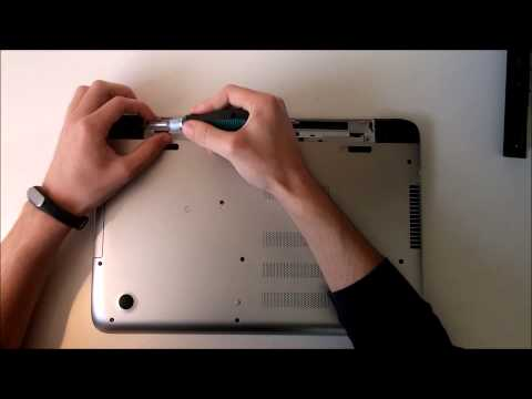 HP pavilion 15-p047nl - Disassembly & Update RAM