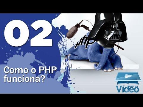 Como funciona o PHP - Curso PHP Iniciante #02 - Gustavo Guanabara