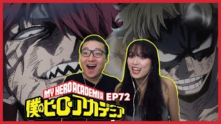 2 SHIELDS, 1 SPEAR | My Hero Academia Reaction Episode 72 / 4x9