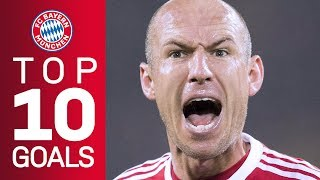 Arjen Robben's best goals for FC Bayern
