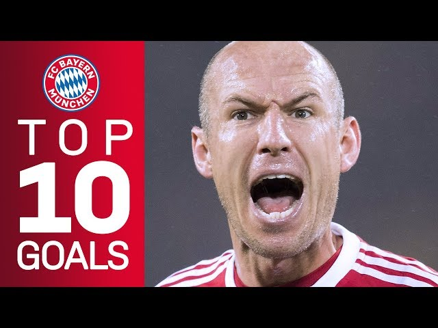 Arjen Robbens best goals for FC Bayern