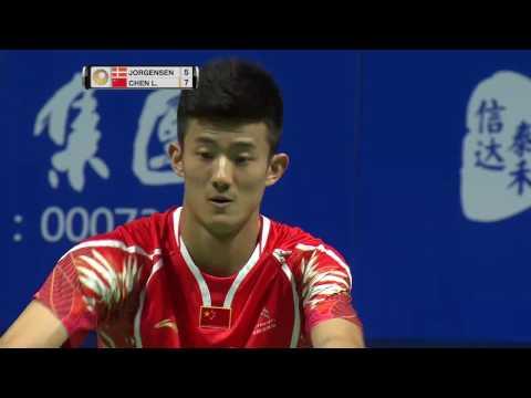 Thaihot China Open 2016 | Badminton F M4-MS | Jan O Jorgensen vs Chen Long
