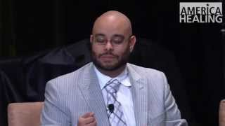 Craig Melvin moderates panel on implicit bias at 2013 America Healing Conference
